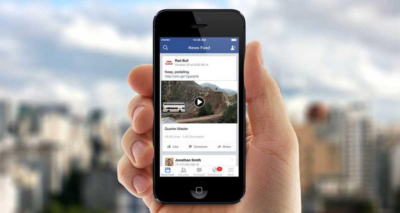 فيس بوك تخطط لعرض إعلانات داخل الفيديوهات