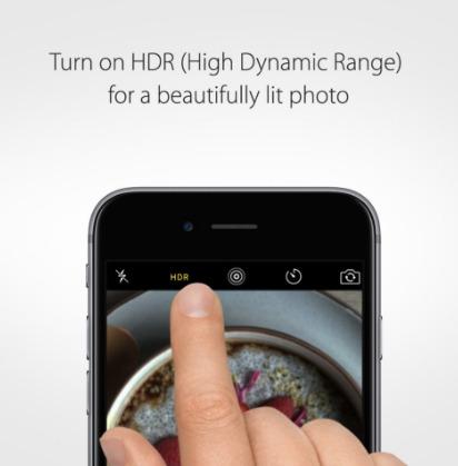 تفعيل وضع HDR عند التصوير بهواتف ايفون