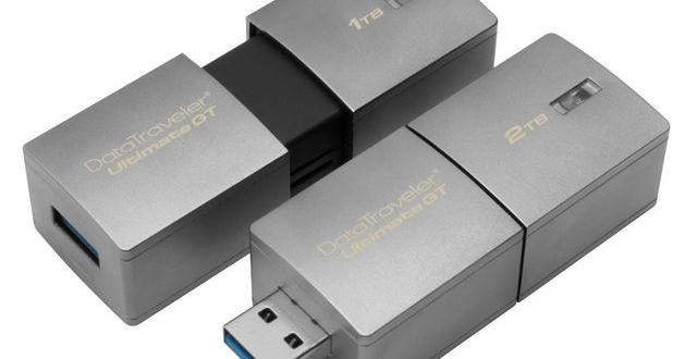 Kingston تعلن عن فلاش ميموري بسعة تخزينية 2 تيرا بايت