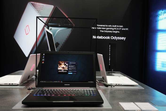 Odyssey: نوت بوك جديد من سامسونج لمحبي الألعاب - صدى التقنية