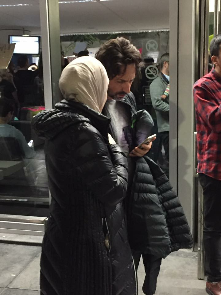 """أنا هنا لأنني لاجئ"""" _ سيرجي برين -الشريك المؤسس لشركة جوجل"""