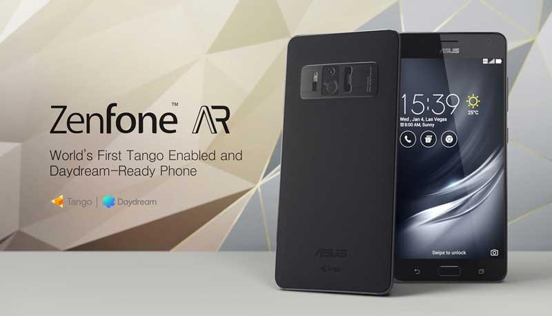 ZenFone AR: مواصفات ومميزات وسعر هاتف أسوس الجديد