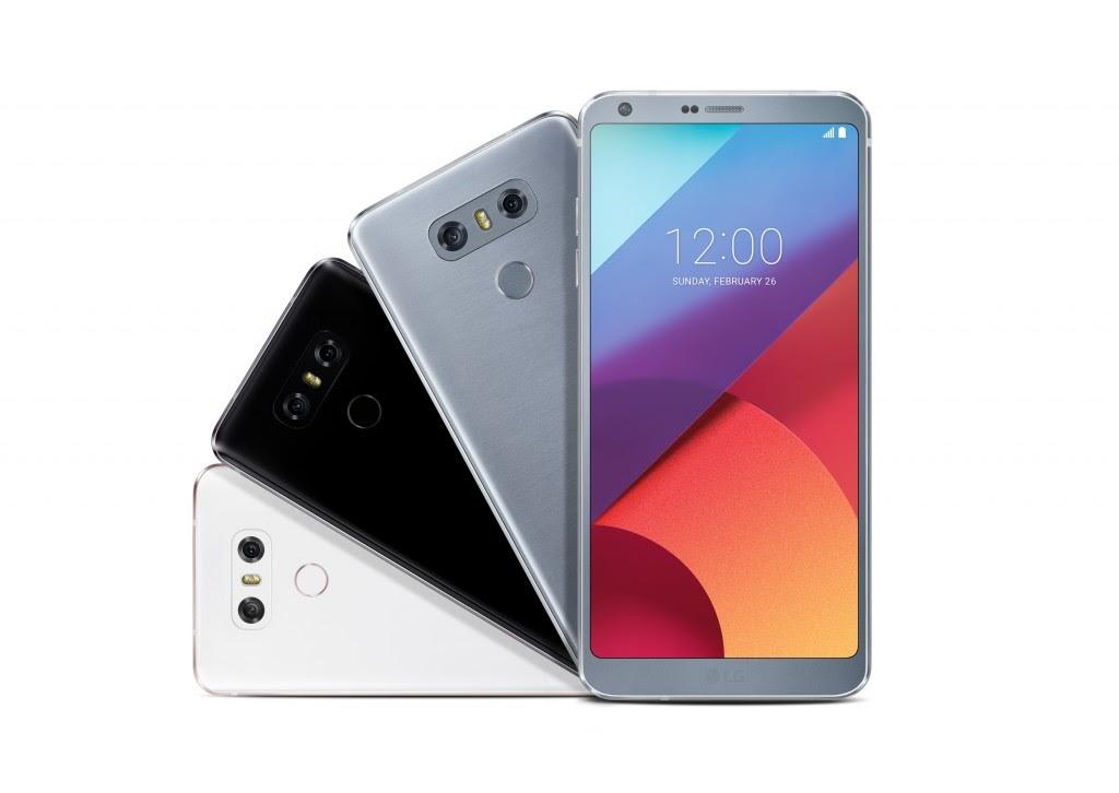 LG G6 الوان