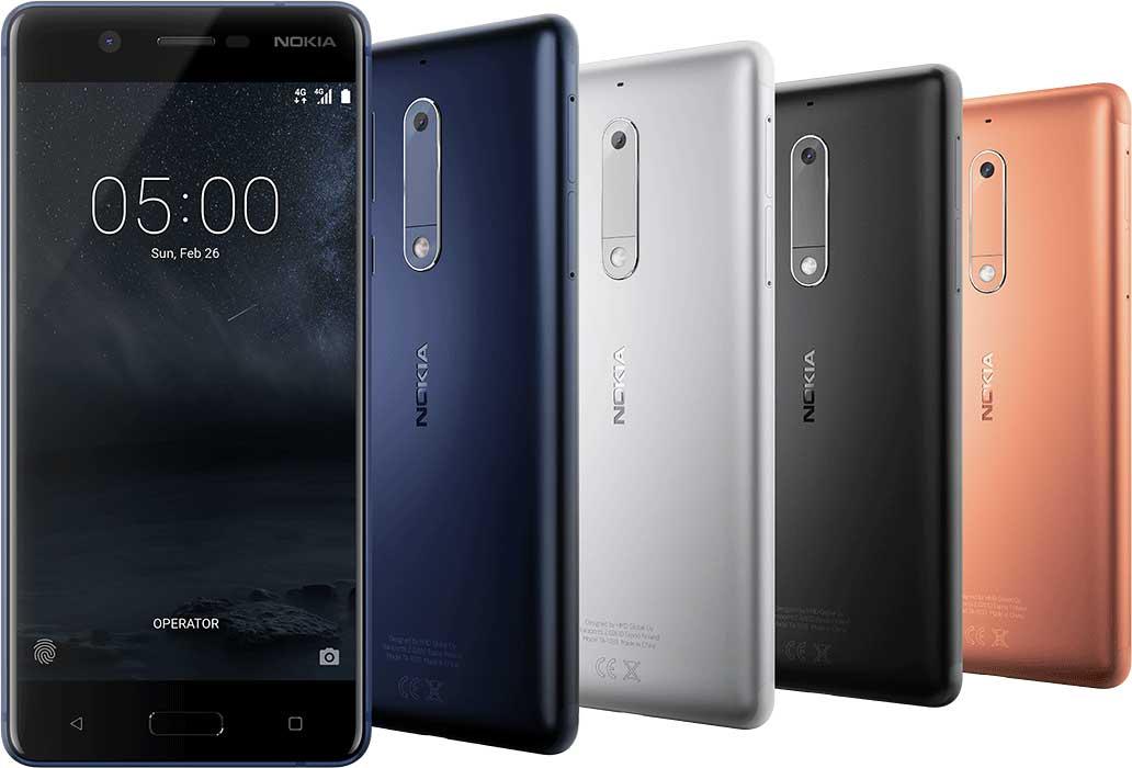 يحمل Nokia 5 كاميرا خلفية بدقة 13 ميجابكسل
