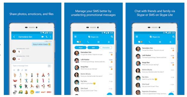 Skype Lite: إصدار أخف وأقل استهلاكا للبيانات من سكايب لأجهزة أندرويد