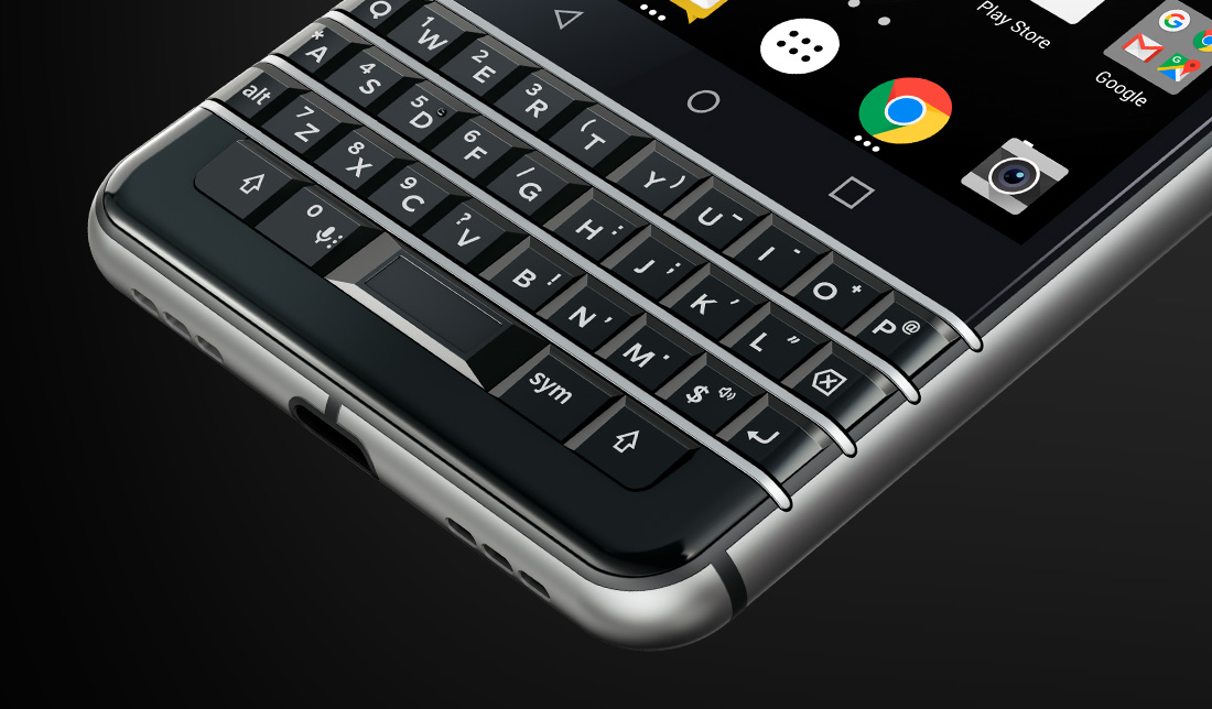لوحة مفاتيح BlackBerry KEYone