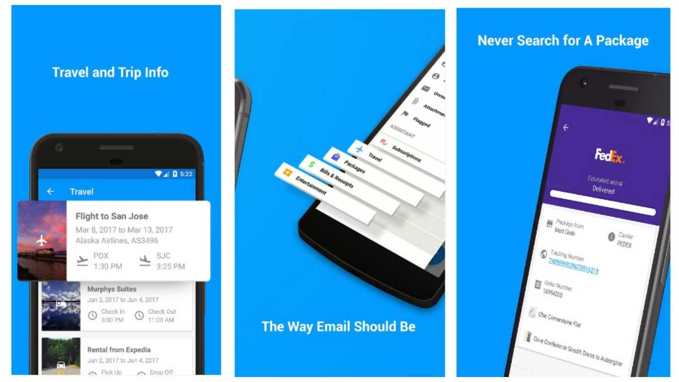 Email: تطبيق مميز لإدارة حسابات البريد الإلكتروني متوفر الآن لأجهزة أندرويد