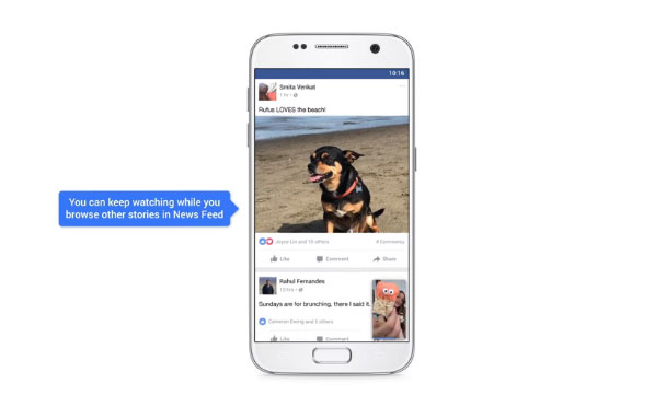 فيس بوك تتيح مشاهدة الفيديو على جانب الشاشة الآن