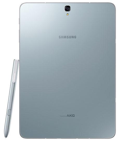 يحمل Galaxy Tab S3 أربعة سماعات ستريو