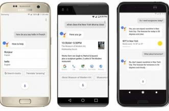 مساعد جوجل الصوتي يتوفر للهواتف بنظام أندرويد نوجا وأندوريد مارشيملو