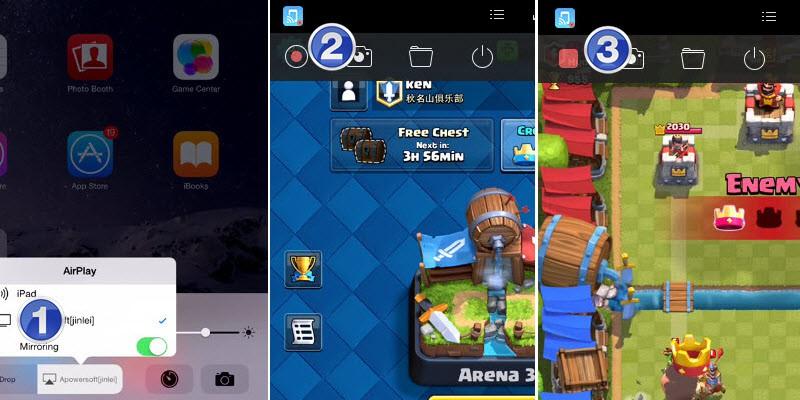 خطوات تسجيل فيديو لشاشة ايفون من خلال Acethinker Screen Recorder iPhone
