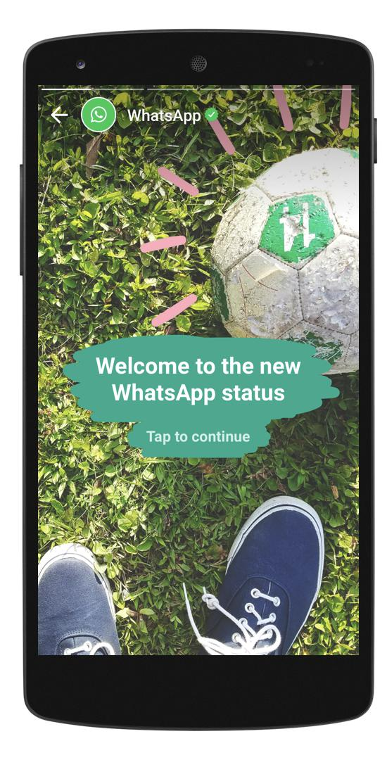 Whatsapp Status : ميزة جديدة من واتساب مشابهة لقصص سناب شات