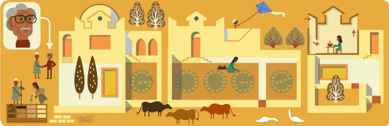 جوجل تحتفل بذكرى ميلاد المعماري المصري حسن فتحي