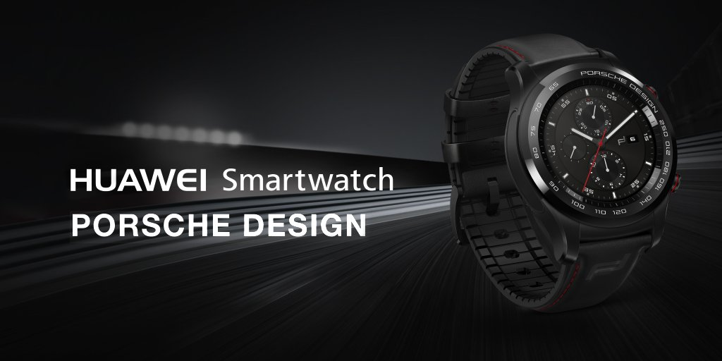 HUAWEI WATCH PORSCHE DESIGN