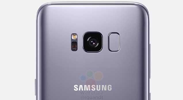 الكاميرا في جالاكسي S8