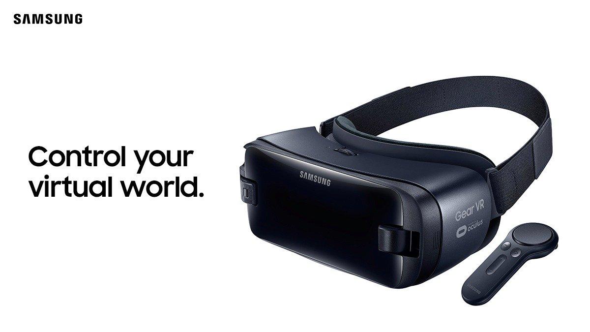 سامسونج تكشف عن إصدار جديد من جير VR مع وحدة تحكم عن بعد