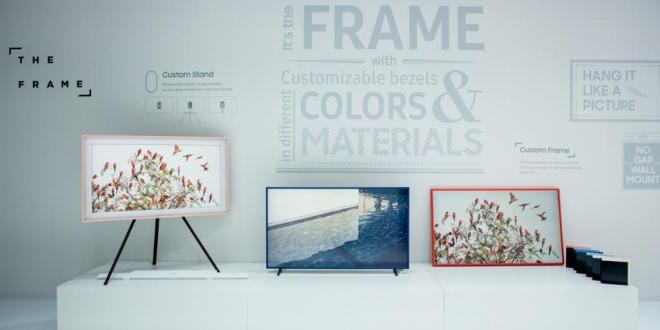 The Frame: تلفزيون جديد من سامسونج يبدو كلوحة فنية بإطار خشبي