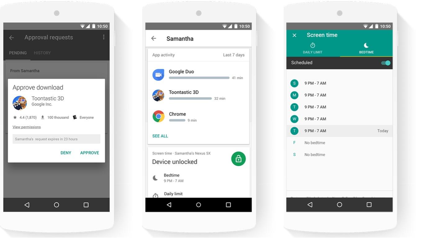 Family Link: تطبيق من جوجل يتيح للآباء التحكم في أجهزة أطفالهم ومراقبتها