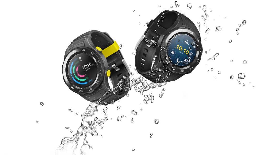 تدعم Huawei Watch 2 ميزة مقاومة الماء