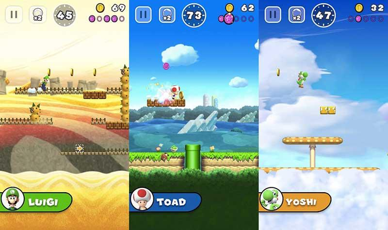 لعبة سوبر ماريو ران تصل لأجهزة أندرويد مجانا