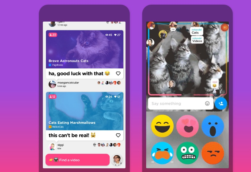 Uptime: تطبيق لمشاهدة مقاطع يوتيوب مع الأصدقاء والتفاعل معها