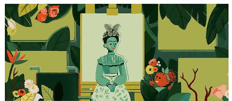 يبرز شعار جوجل للاحتفال بمناسبة اليوم العالمي للمرأة دور 13 امرأة رائدة