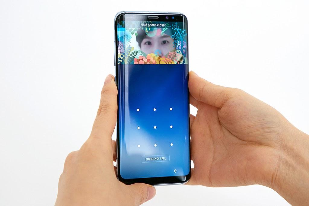 يدعم Galaxy S8 Plus ست طرق لتأمين الهاتف