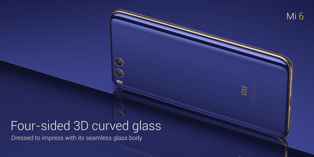 يحمل Xiaomi Mi 6 كاميرتين خلفيتين بدقة 12 ميجابكسل