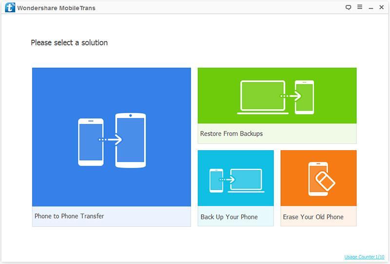 MobileTrans: تطبيق لنقل واستعادة البيانات بين الهواتف بضغطة واحدة