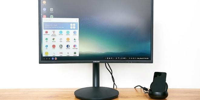 Samsung DeX: المميزات والسعر وكيف تحول جالاكسي S8 لكمبيوتر؟