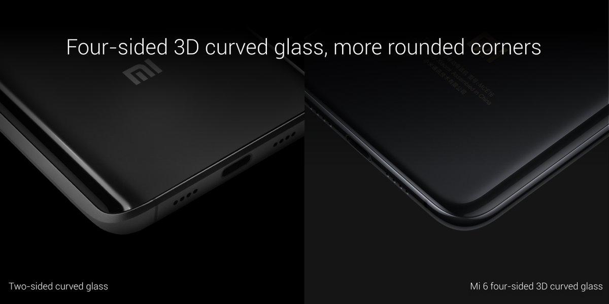 تصميم Xiaomi Mi 6