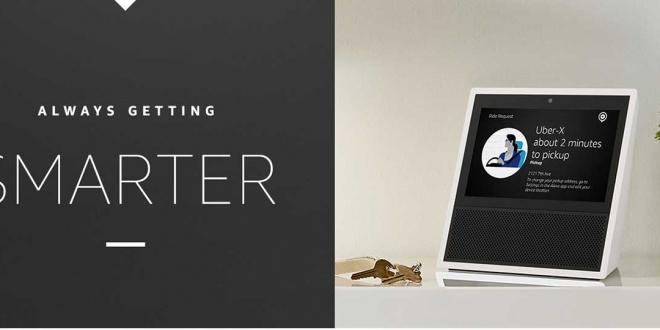 Echo Show: سماعة ذكية جديدة من أمازون تحمل شاشة وتتيح إجراء المكالمات