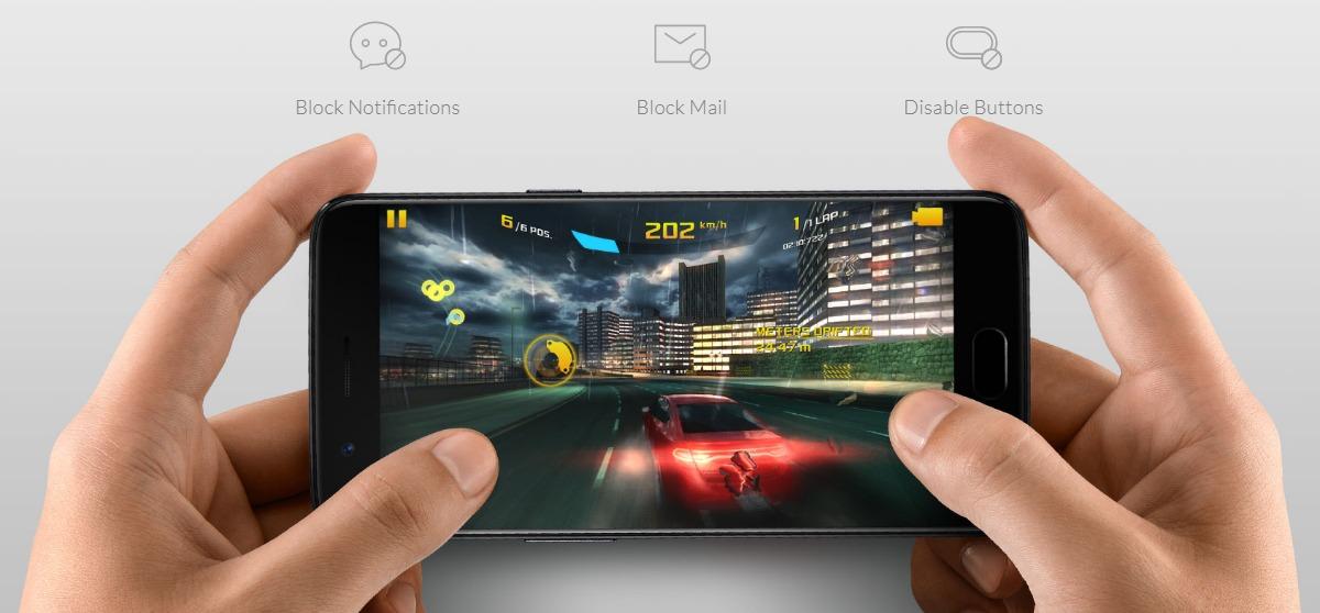 OnePlus 5 game mode وضع الألعاب في وان بلس 5