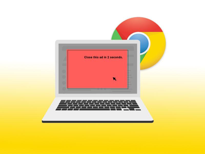 جوجل كروم سيحجب الإعلانات المزعجة تلقائيا بداية العام المقبل 2018