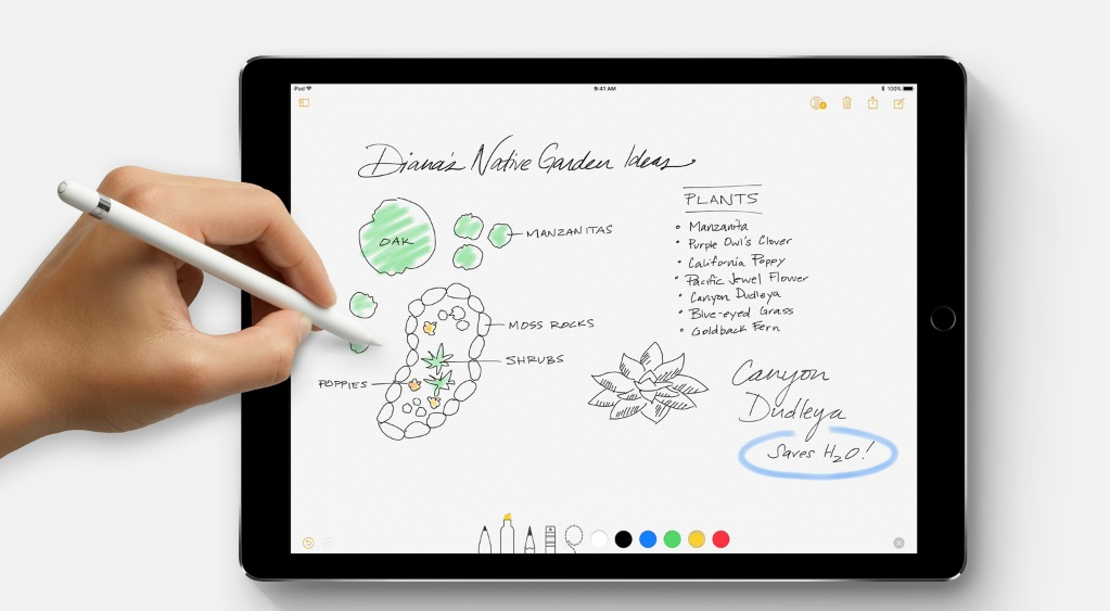 iOS 11 apple pencil new features