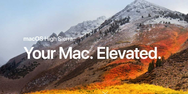 macOS High Sierra: كل المميزات الجديدة التي سيوفرها لأجهزة ماك