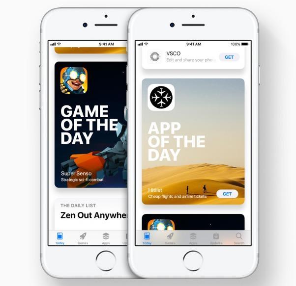 متجر آبل للتطبيقات App Store يحصل على تصميم جديد أفضل