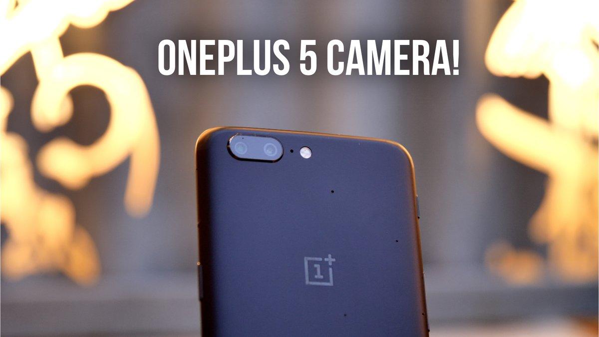 الكاميرا في OnePlus 5