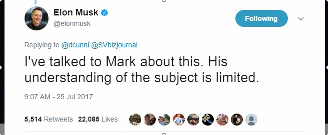 Elon Musk Mark zuckerburg