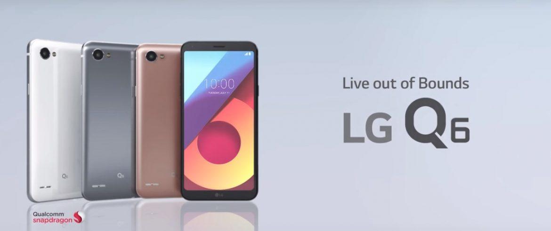 LG Q6: مواصفات ومميزات وسعر سلسلة هواتف إل جي الجديدة