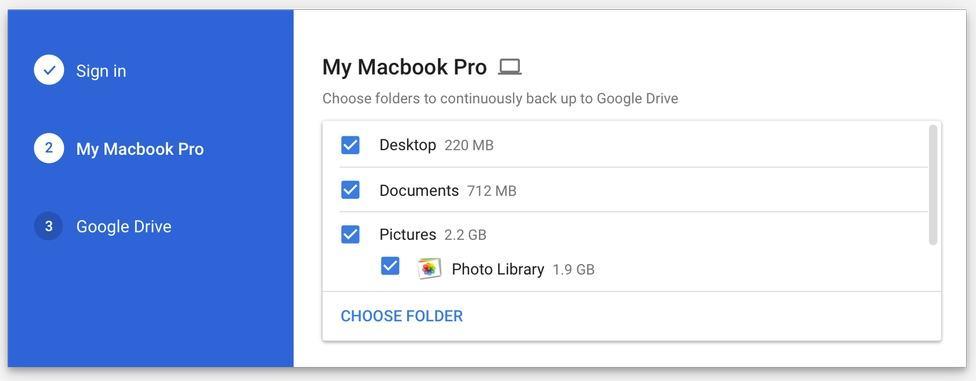 Backup and Sync: تطبيق من جوجل لحفظ نسخة احتياطية من ملفاتك