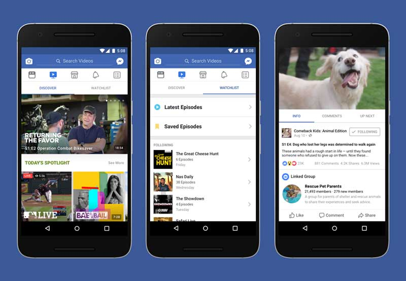 facebook watch platform