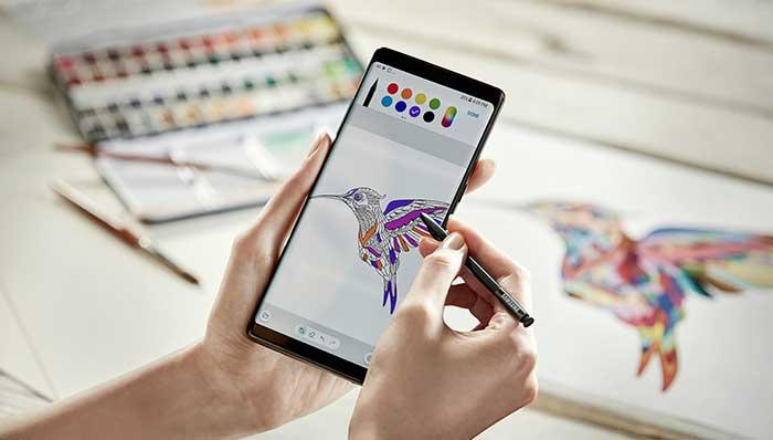 مميزات القلم الرقمي في جالاكسي نوت 8