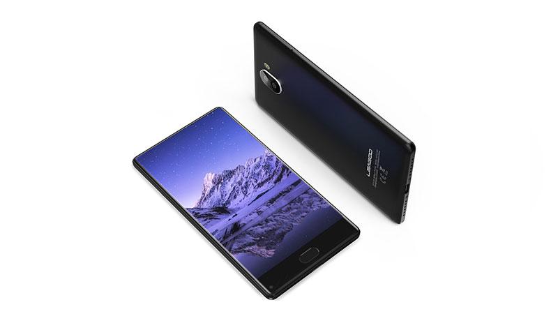 KIICAA MIX: هاتف بشاشة بدون حواف وكاميرتين خلفيتين بتكلفة منخفضة