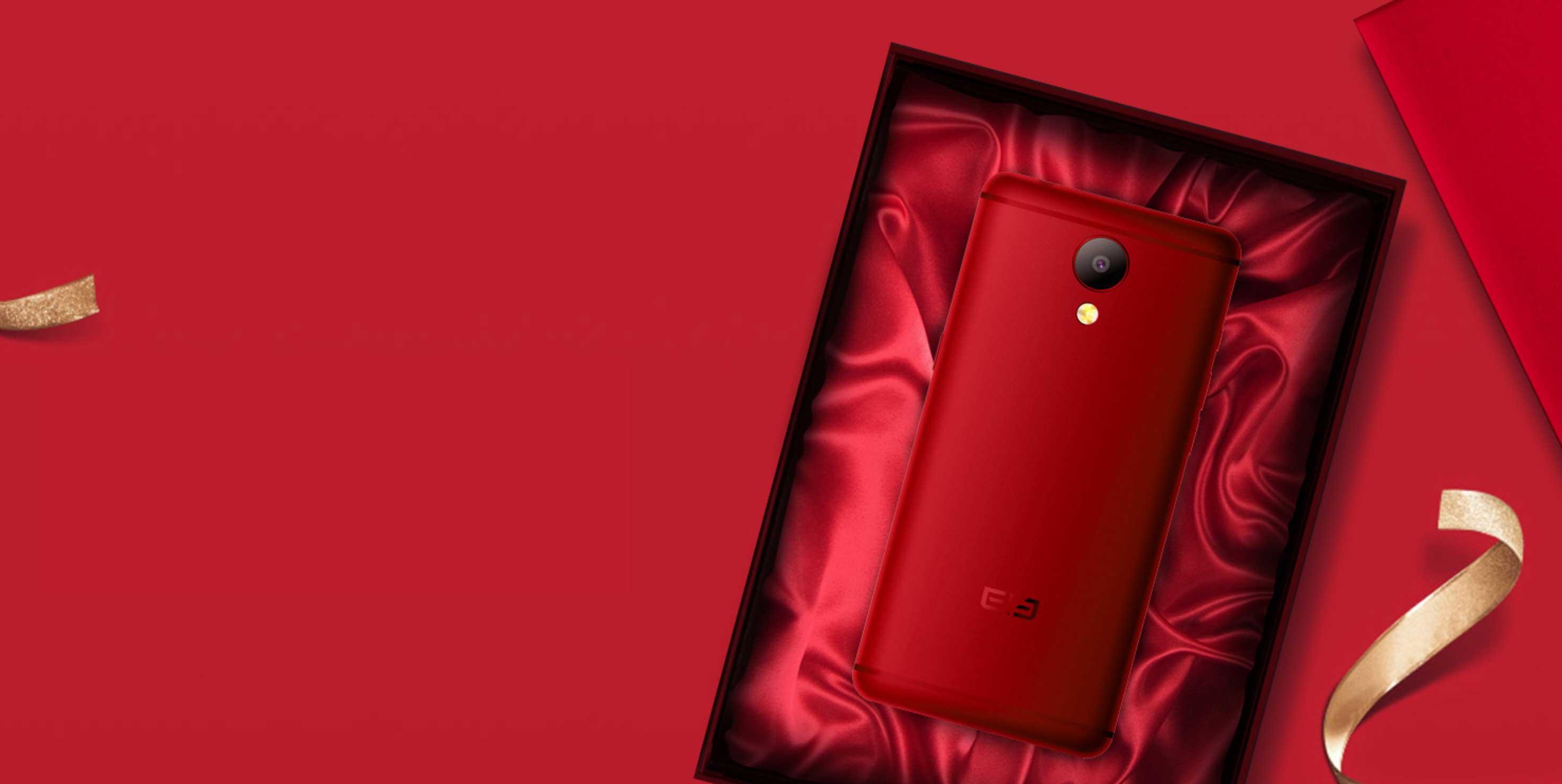 elephone 8 باللون الأحمر