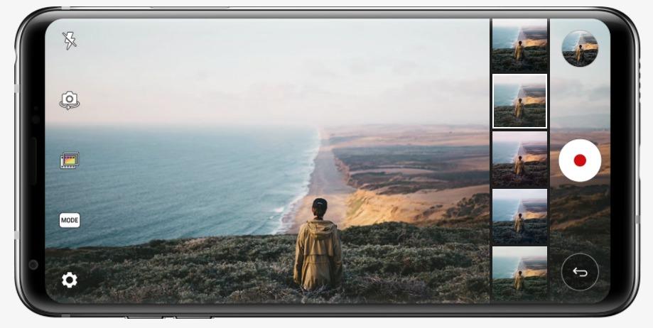 كاميرا LG V30