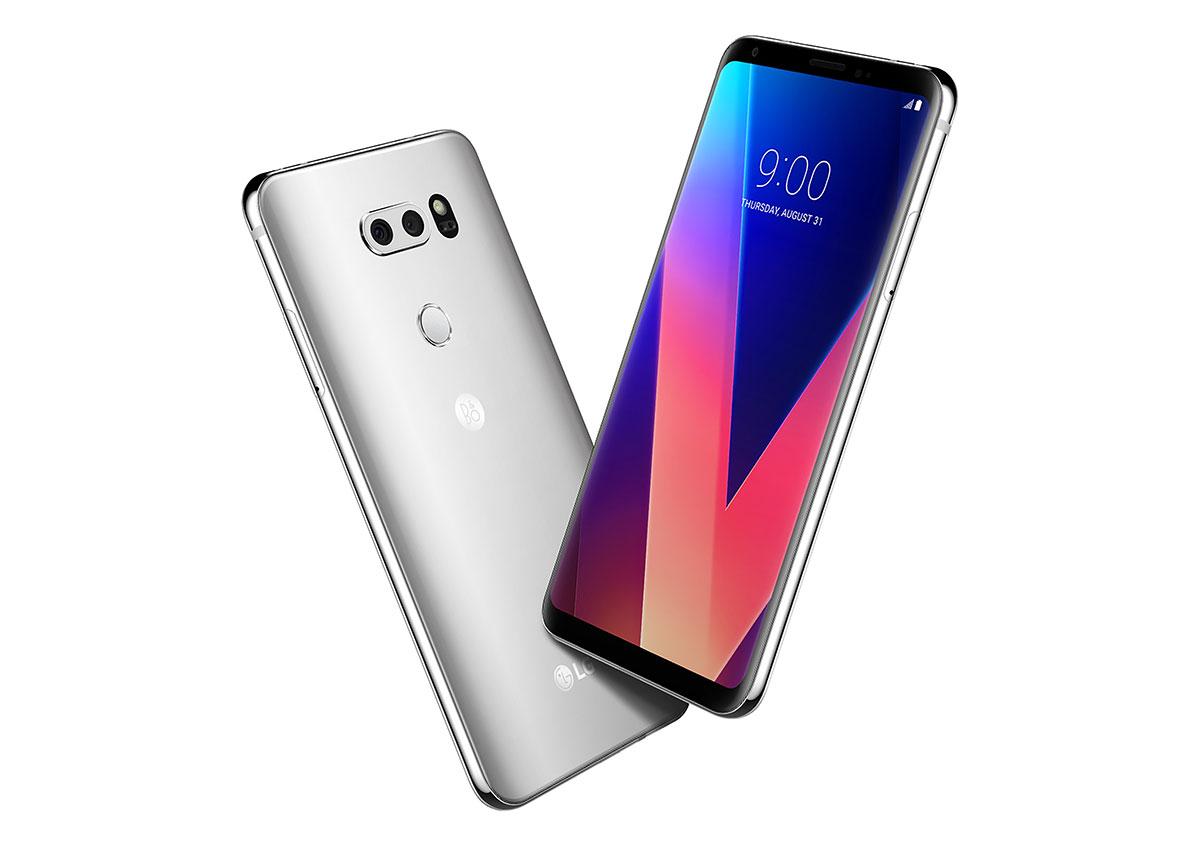 LG V30 باللون الفضي