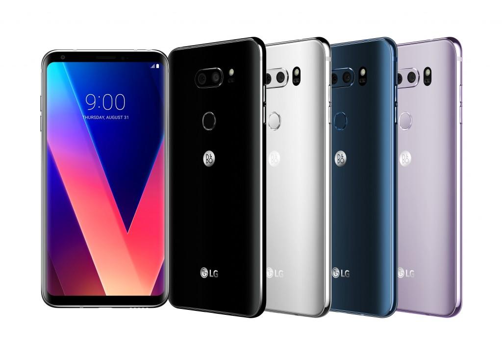 الوان LG V30