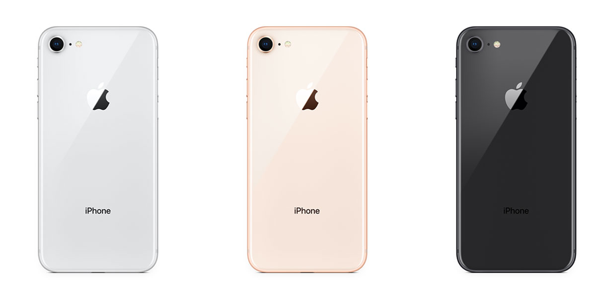 الوان iPhone 8
