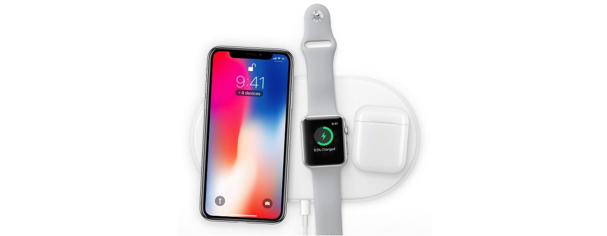iPhone X هو أول هاتف من آبل يدعم الشحن اللاسلكي